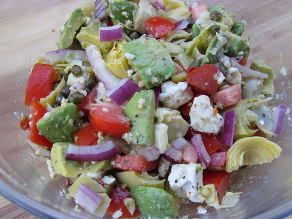 Avocado Feta Salsa Recipe — Dishmaps